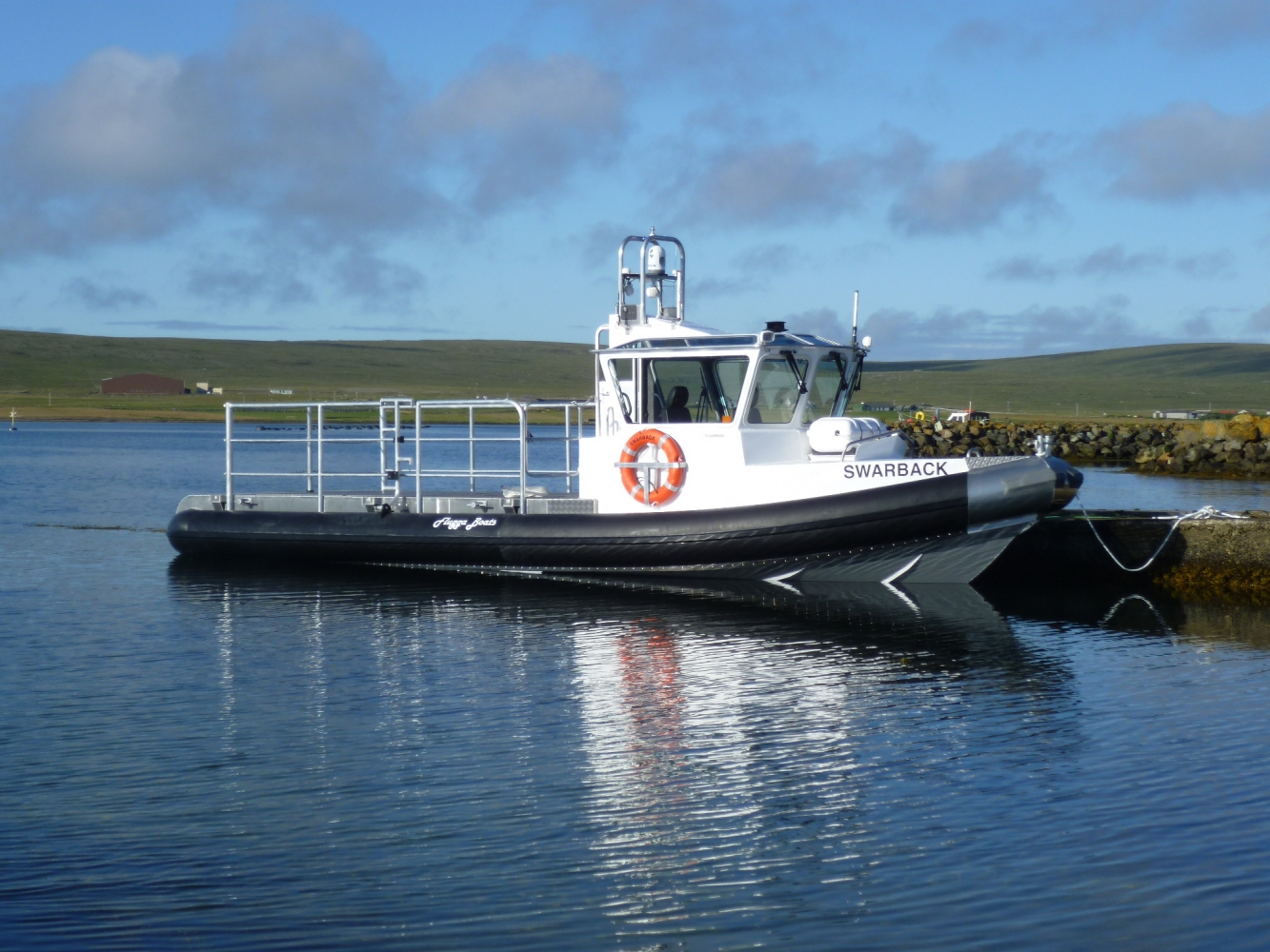 10m Fluggaboat twin waterjet launched 2012