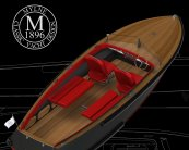 Bolt 18 Luxury electric sports boat