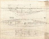 Jenetta Original Plans  - the worlds largest and fastest 3rd Rule 12m racing yacht