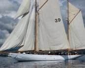 Eileen II - 1934 Gaff Ketch from the board of Alfred Mylne