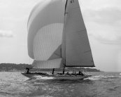 Jenetta by Alfred Mylne - the worlds largest and fastest 3rd Rule 12m racing yacht